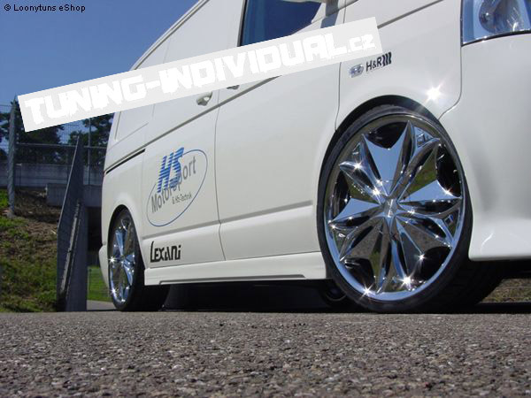 VW Transporter/Caravelle T5 - prahy NEODESIGN od Loony Tuns